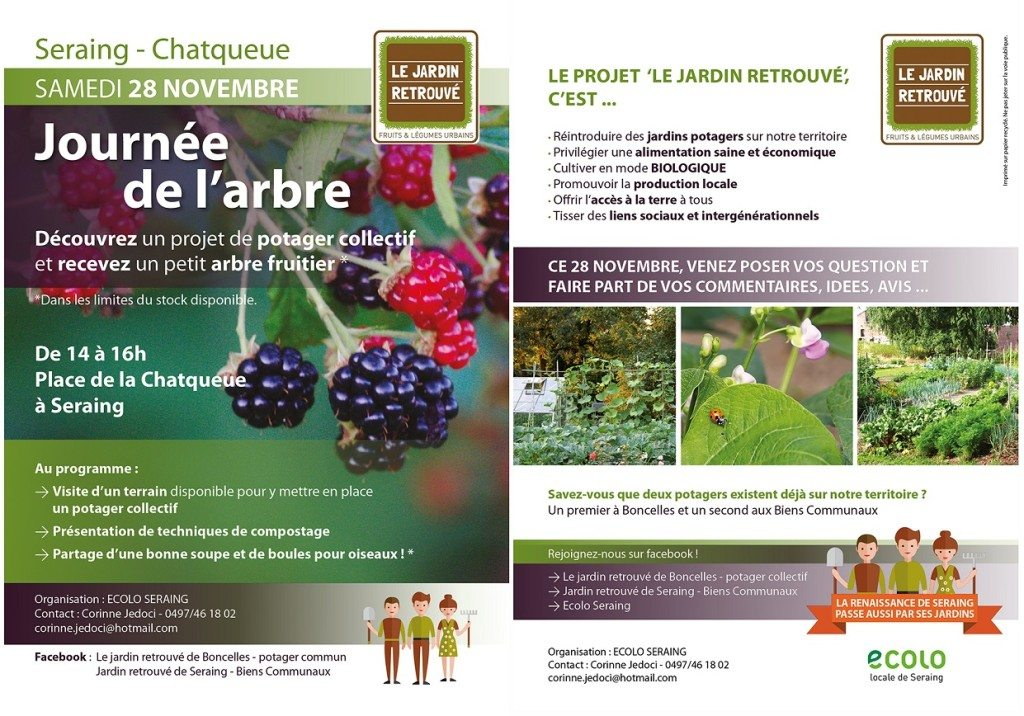 journée de l'arbre flyers recto verso 2