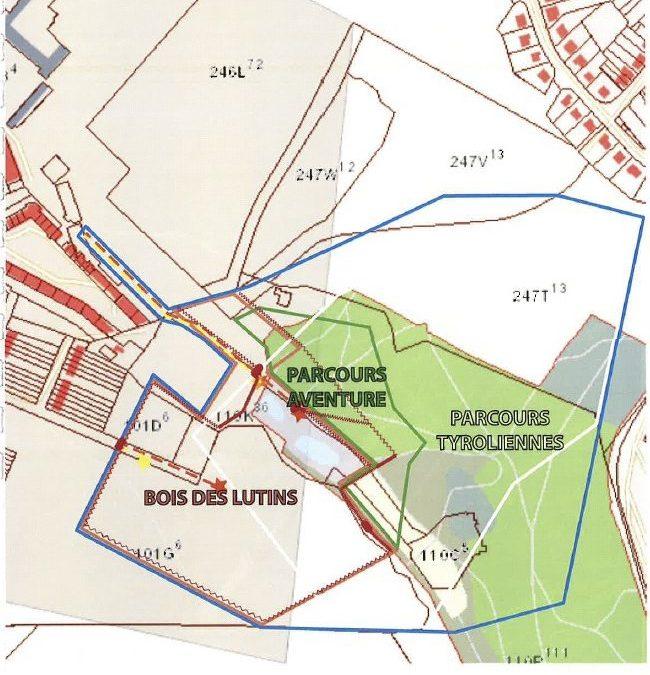 Le projet d'accrobranche au Val Saint Lambert pose question