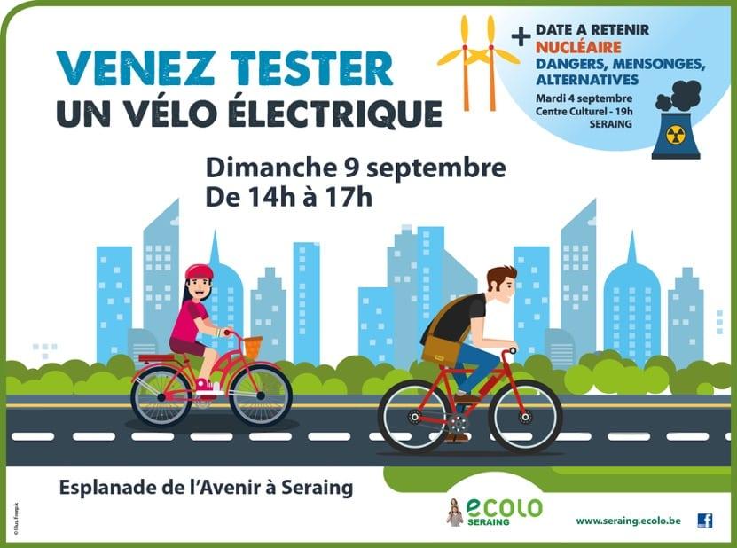 Venez tester un vélo électrique !