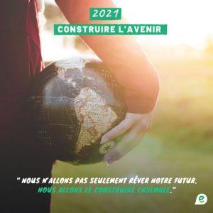 Bonnes fêtes et meilleurs vœux pour l'année 2021!