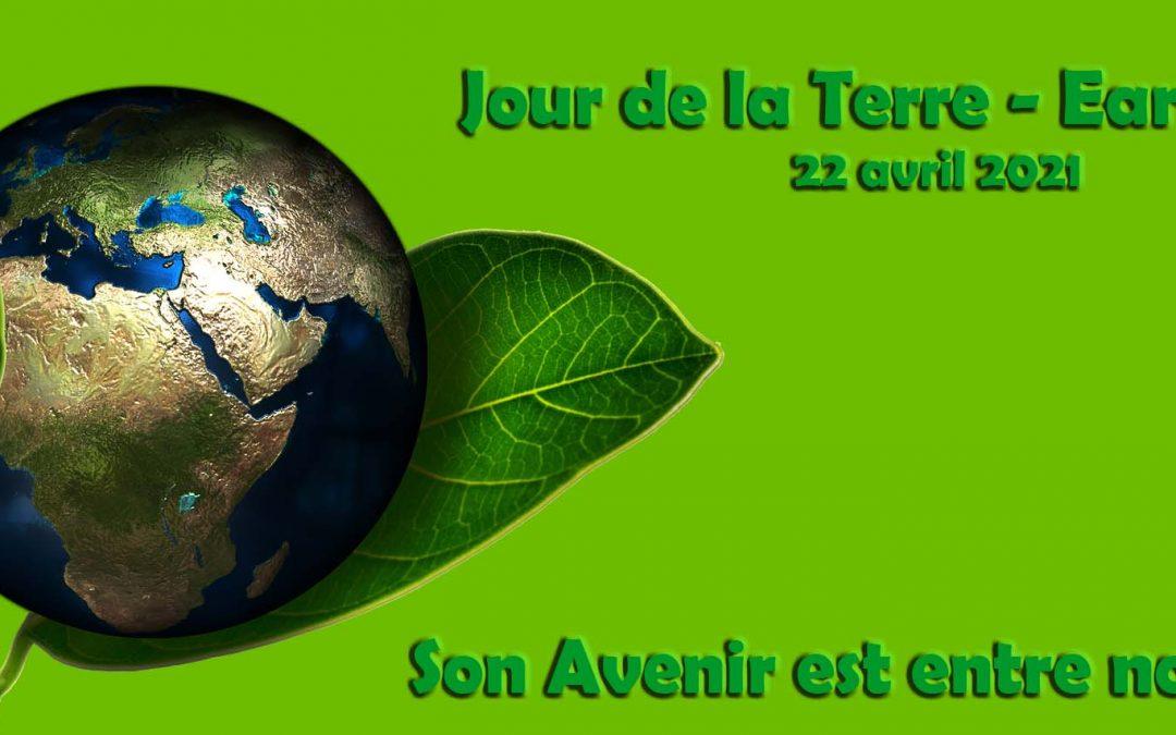 Jour de la Terre – 50ème édition – 22 avril 2021
