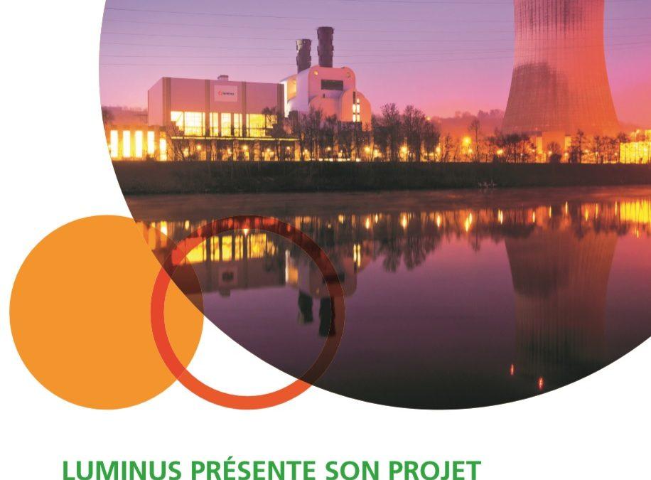 Projet de construction d'une nouvelle centrale au gaz de la SA Luminus